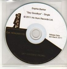 (CO65) Sophie Barker, Say Goodbye - 2011 DJ CD