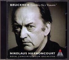 Nikolaus HARNONCOURT: BRUCKNER Symphony No.4 Romantic Live 1997 CD Concertgebouw