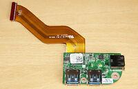 Genuino Dell XPS 17 L701X L701X TRIPLE Circuito USB 3.0 45m3v 045m3v