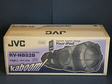 NEW JVC KABOOM BOOMBOX RV-NB52B POWERED WOOFER--FOR USA & CANADA--AC 120 VOLTS