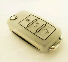 New Style VW Remote Key Case FOB Silicone Protective Cover Hold Bag 4 Buttons