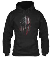 American Spartan Gildan Hoodie Sweatshirt
