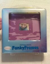 "Funky Frames 1.8"" LCD Portable Digital Picture Frame Purple Camo"