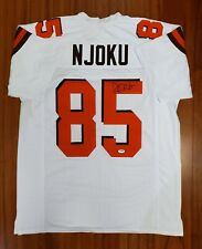 David Njoku Autographed Signed Jersey Cleveland Browns PSA DNA