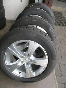 Winterräder BMW X5 E70 Autec Felge 8,5x18 ET45 + 255/55R18 109V Conti TS850P SUV