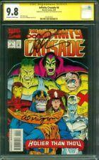 Infinity Crusade 4 CGC 9.8 2XSS Starlin Milgrom Avengers Thanos Iron Man 1993