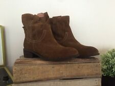 Jeffrey Campbell St. Elmo Brown Suede Bootie Size 10 MSRP: $145