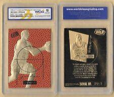 MICHAEL JORDAN FEEL THE GAME COURT MASTERS WCG GEM MT 10 23 KT GOLD CARD
