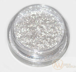 Snow White Eye Shadow Glitter Sparkling Dust Body Face Nail Party Make-Up