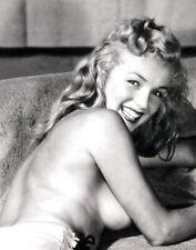 "Vintage, Famous Marilyn Monroe Pin-up ""Seduction 2""   Photograph 11""x14"""