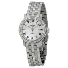 Tissot Bridgeport Automatic Mother of Pearl Dial Ladies Watch T0970071111300