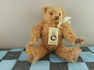 Merrythought Pure Mohair Jointed Old Teddy Bear Growler England