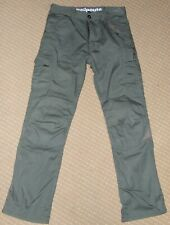 RED ROUTE Motorcycle Cargo Trousers Green 32