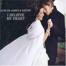 Duncan James / Keedie I Believe My Heart Single (The Woman In White) single