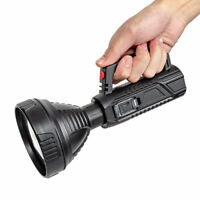 Bright LED Searchlight Flashlight USB Rechargeable Worklight Spotlight Outdoor