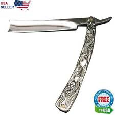 "Straight Razor SWEENEY TODD HUGE 11.5"" Blade Barber Pocket Knife Shaving Demon"