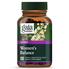 Womens Balance (Replaces Phyto-Estrogen) Gaia Herbs 60 VCaps