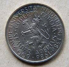 Stempelglanz 5 DM Münzen der BRD (1951-1974)