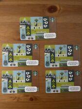 Starbucks cards Seattle 2011 2012 2013 2014 Lot