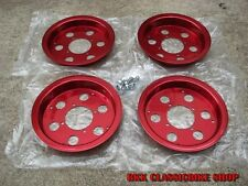"HONDA MONKEY GORILLA Z50A Z50 Z50J  Z50R Alloy Rims Wheel 8""  // RED"