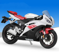 1:18 Maisto YAMAHA YZF R6 Motorcycle Motocross Bike Model New In Box