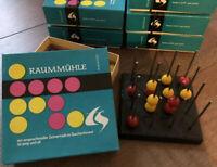 DDR Raummühle • vier gewinnt • Brettspiel Gesellschaftsspiel Denkspiel Reise