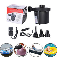 Inflator/Deflator Electric Air Pump Rechargeable Car Home Pump + 3 Nozzl zxc