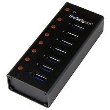 StarTech.com 7 Ports USB 3.0 Hub - Bureau ou -mural Métal Boîtier