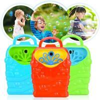 Bubble Machine Automatic Bubble Maker Blower Music Bath Toys For Baby Child