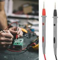 Digital Multimeter 1000V 10A Test Lead Cable Probe Pen Wire Needle Tip N7L3 A0T7