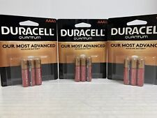 New Duracell Quantum AAA 6 Pack Brand New Sealed Package (3 Packs) 18 Batteries