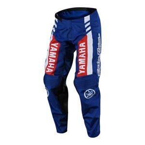Troy Lee Designs GP Yamaha RS1 Mens MX Offroad Pants Blue