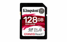 Secure digital Kingston 128GB SDXC Cl10 Uhs-i U3 V30 A1 C