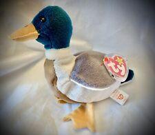 Ty Retired Beanie Baby - JAKE the Duck - MWMT