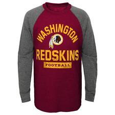 Washington Redskins NFL Youth Boys' Long-Sleeve T-Shirt Size Medium (10/12)  NWT