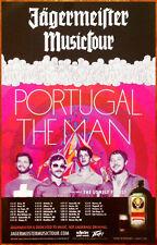 PORTUGAL.THE MAN Ltd Ed Discontinued RARE New Poster! Evil Friends Woodstock