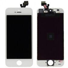 Pantalla LCD Unidad Completa Panel Táctil para Apple iPhone 5 5G BLANCO CRISTAL