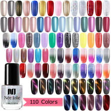 NEE JOLIE 3.5ml Cat Eye Nail Polish Matte Metallic Holographic Manicure Varnish