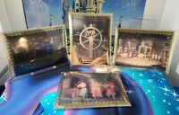 Disneyland Pirates of the Caribbean Lenticular Cards with Stands SET of 4 NEW