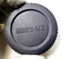 Micro 4/3 M4/3 Camera body cap Olympus PEN E-PL2 PL1 PL3 - Free Shipping USA