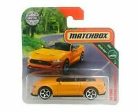 '18 Ford Mustang Convertible Orange Matchbox Cars 2018 1:64 Diecast Car Toys