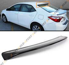 JDM Style Glossy Black Rear Roof Window Visor Spoiler For 2014-16 Toyota Corolla