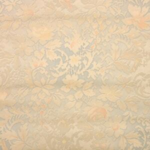 1940s Floral Vintage Wallpaper Gray and Tan Floral