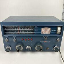National Radio NC-140 Communications Radio Receiver Vintage Untested