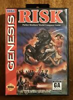Risk (Sega Genesis, 1994), Manual Included, Complete, TESTED And WORKING