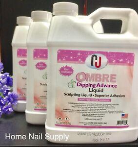 Ombre Acrylic Liquid Non Yellowing For Dip Color Powder 32oz 946ml