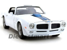 WELLY 1:18 1972 PONTIAC TRANS AM FIREBIRD DIECAST WHITE