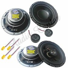 KIT A29 ALTOPARLANTI ALFA 156 ANT+POST CASSE WOOFER 165mm +TW 13mm+ COASS 165mm