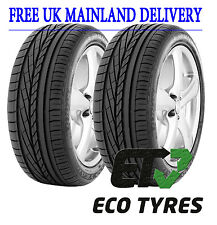 2X Tyres 245 40 R20 99Y GoodYear Excellence Run Flat  RFT E C 69dB