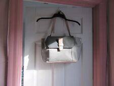 Ivanka Trump Leather Pink/Gray Satchel NWT